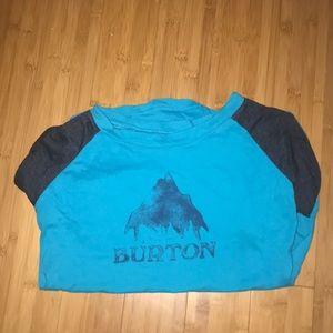 Burton 3/4 sleeve tee